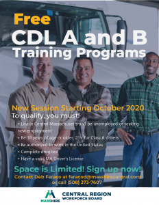 Free CDL A and B training