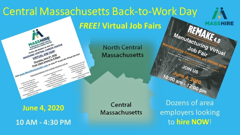 Central Massachusetts Back to Work Day Promotional Flyer