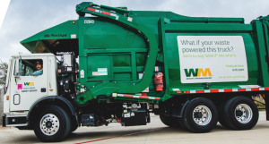 Photo of Waste Managemment Company truck