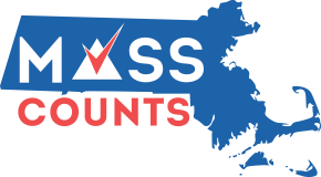 """Mass Counts"" 2020 Census Logo"
